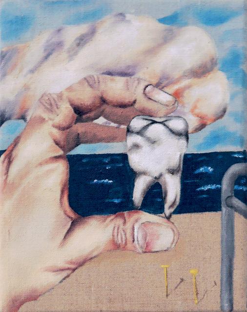 , 'Hand With Tooth,' 2016, Galerie Sébastien Bertrand