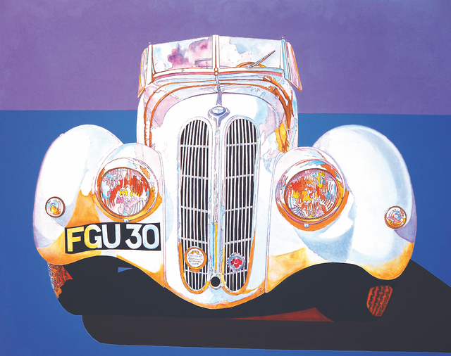 , 'BMW 328,' 1989, Walter Wickiser Gallery