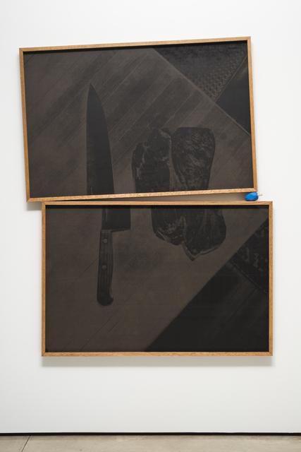 , 'Meat and Knife, Dortmund,' 2015, Lora Reynolds Gallery
