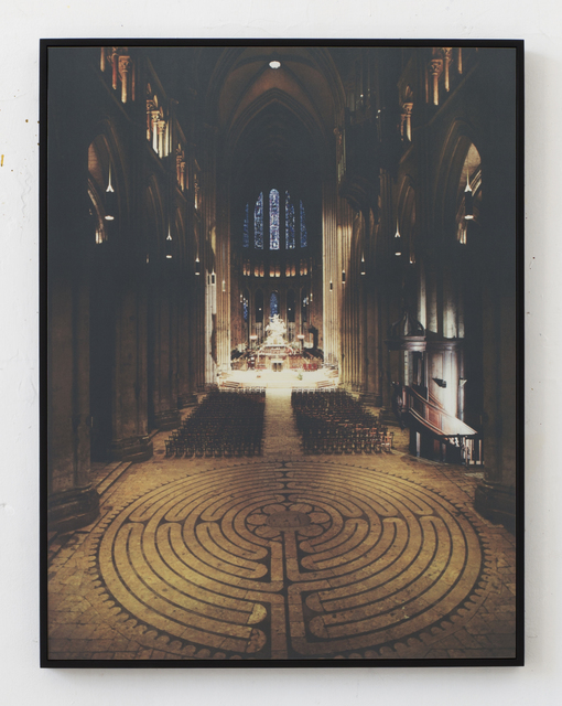 , 'Cathédrales Hermétiques – vitraux Cathedral of Our Lady of Chartres II, 13th century,' 2016, Seelevel Gallery