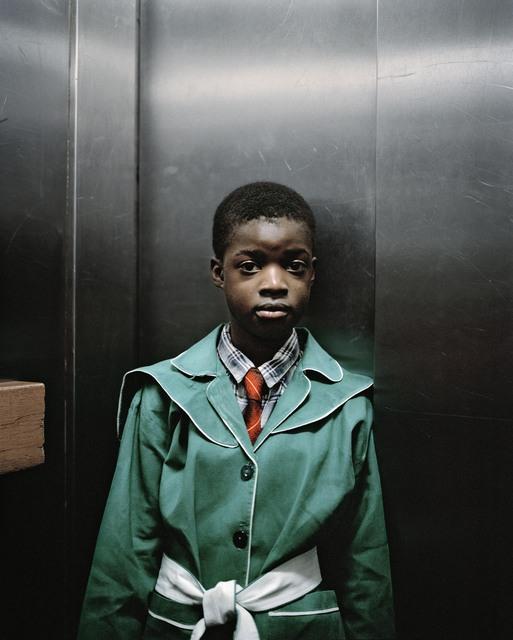 , 'Lift Portrait 8, Ponte City, Johannesburg,' 2008, Goodman Gallery