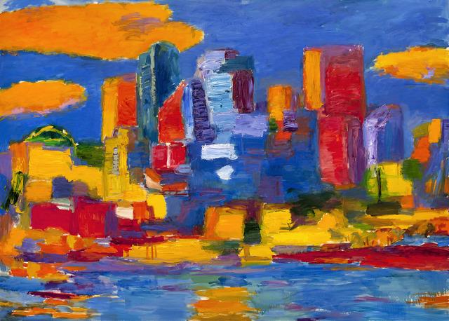 , 'Toronto en Azuz,' , Odon Wagner Contemporary
