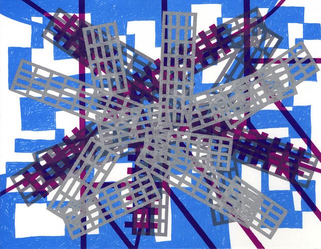 , 'Mirror x 6 (4),' 2008, Flowers