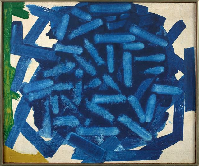, 'Blue Star,' 1963, Berry Campbell Gallery