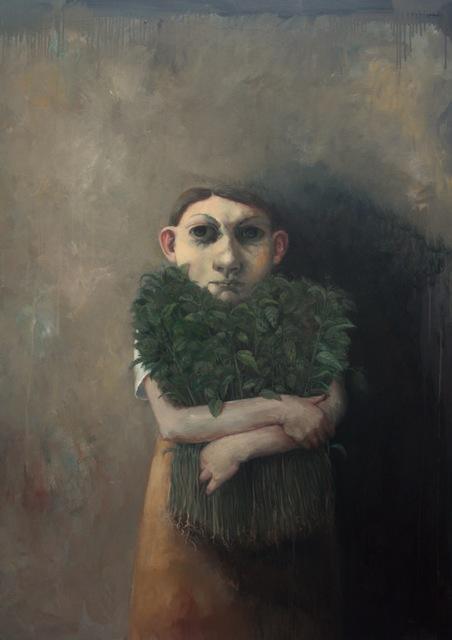 , 'Girl with Nettles,' 2017, bo.lee gallery