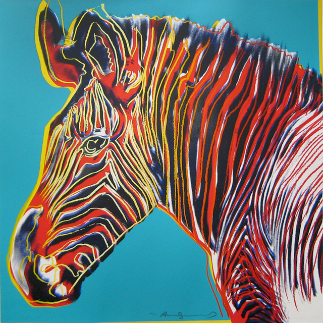Andy Warhol, 'Grevy's Zebra, from the Endangered Species Portfolio', 1983, Joseph K. Levene Fine Art, Ltd.