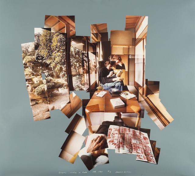 , 'Gregory Reading in Kyoto,' 1983, Galleria il Ponte