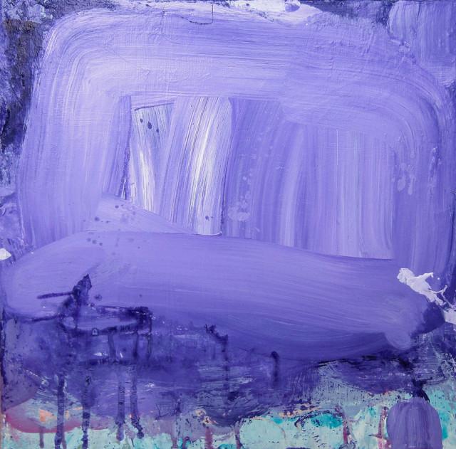 Lisa Fellerson, 'Purple Phase', 2017, Painting, Acrylic on canvas, Susan Eley Fine Art