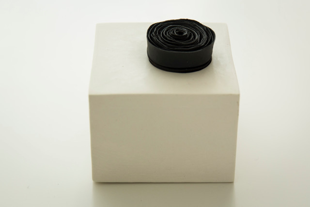 Valeria Nascimento, 'Black Spiral Ring', 2017, Heather Gaudio Fine Art