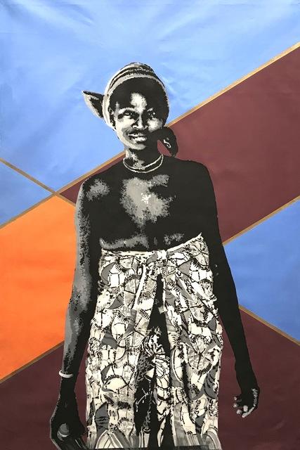 RICARDO KAPUKA, 'ANGOLAN MUMUILA WOMAN', 2019, ELA - Espaço Luanda Arte