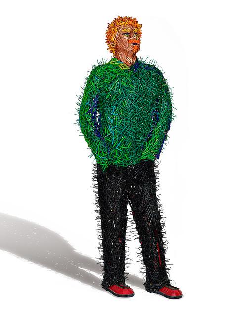 , 'Green Shirt Man,' 2014, Cavalier Ebanks Galleries