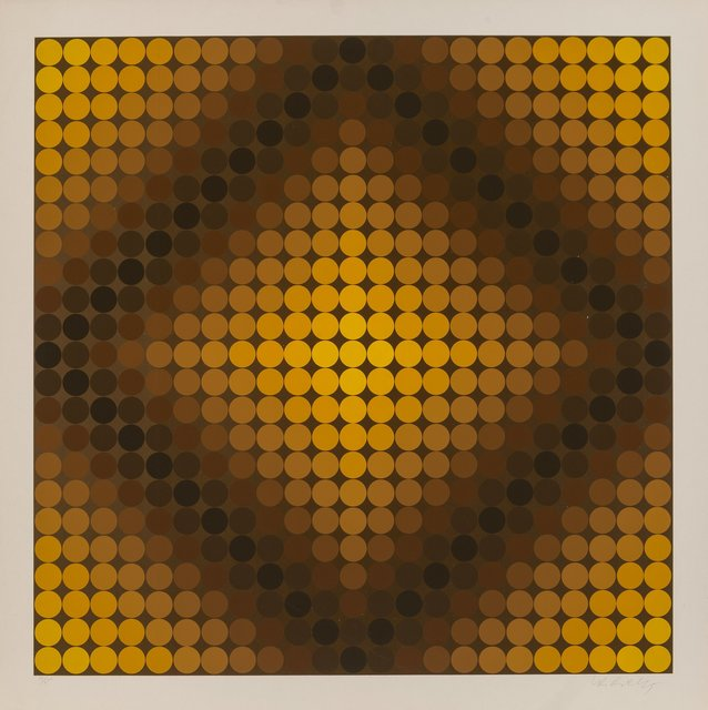 Victor Vasarely, 'DiaC', 1968, Heritage Auctions