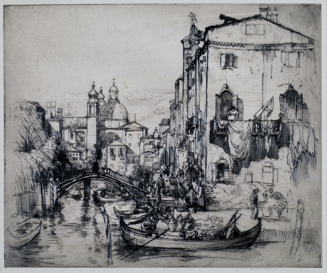 Donald Shaw MacLaughlan, 'Song from Venice, No. 2', 1912, Private Collection, NY