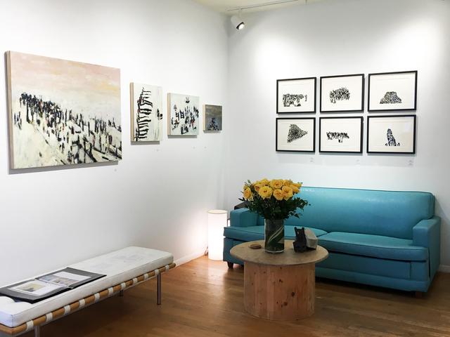 , 'Gathering,' 2017, AMP: Art Market Provincetown