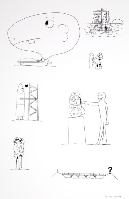, 'Random thoughts about life 3,' 2018, Polígrafa Obra Gráfica