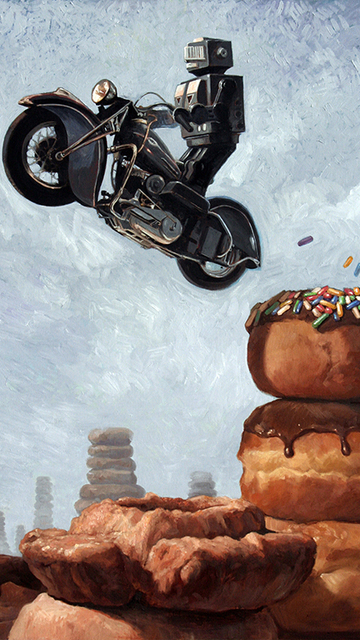Eric Joyner, 'Dark Rider Returns', 2006, Art Attack SF