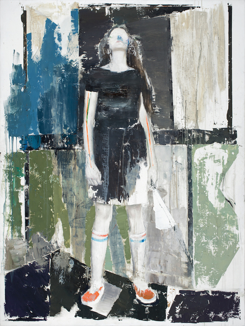 , 'Fille a l'éventail,' 2016, Galerie Dukan