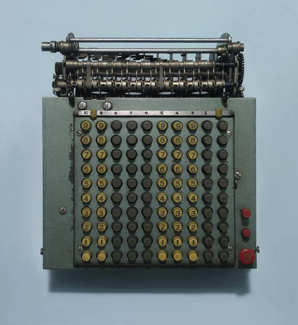 ", '""Untitled"" (Mechanical Calculator) ""无题""(机械计算机),' 2017, Arario Gallery"