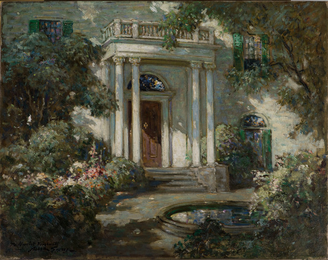 , 'Front Porch in Dappled Sunlight,' 19th -20th Century, Vose Galleries