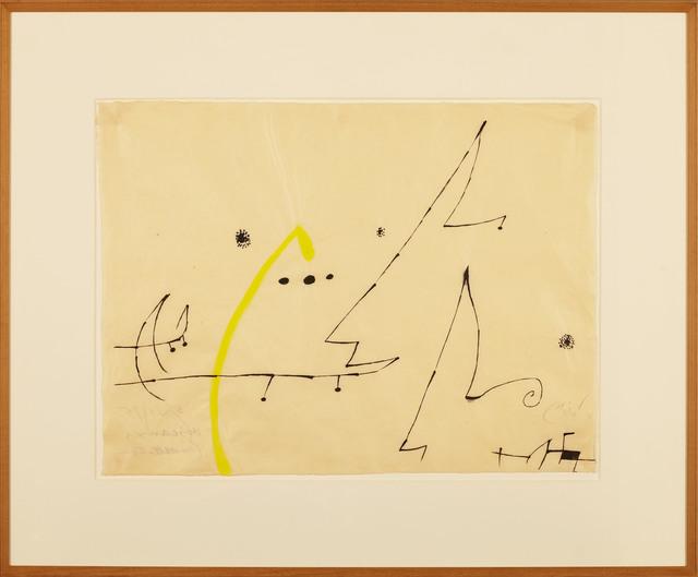 Joan Miró, 'Oiseaux, constellations', 1975, Galería Daniel Cardani