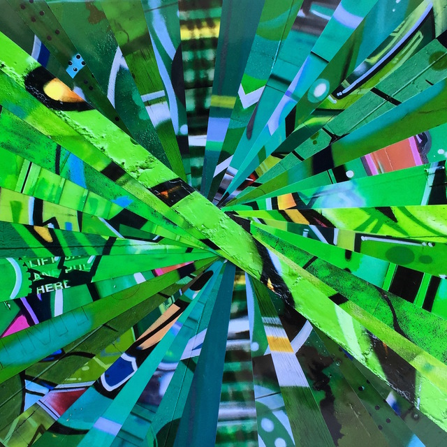 Nicola Katsikis, 'Warp Speed Green', 2016, Artspace Warehouse
