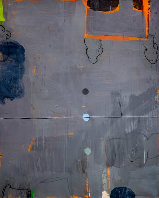 , 'The Vicar's Wife in Grey and Orange,' 2018, Robischon Gallery