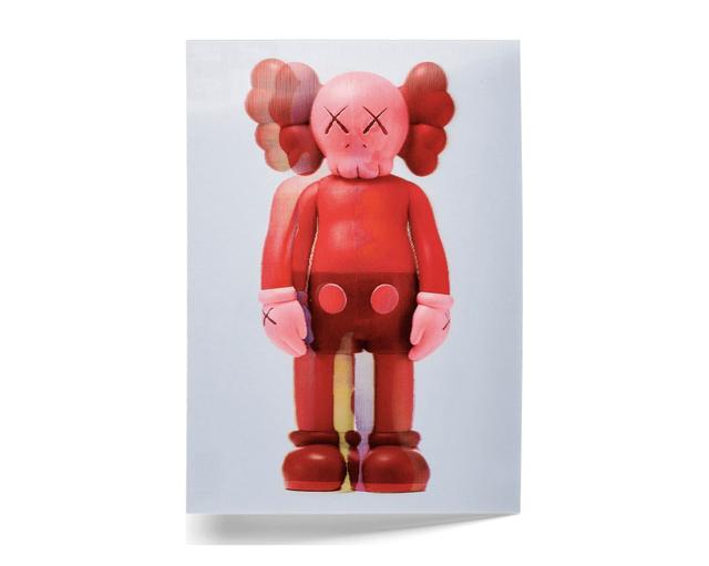 KAWS, 'KAWS x NGV Lenticular Postcard (Red)', 2019, Print, Paper, Curator Style