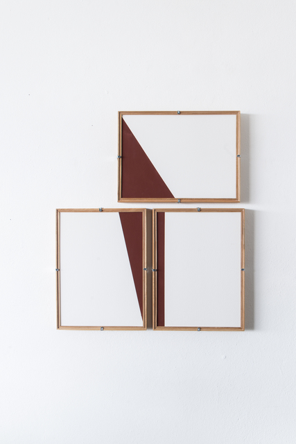 , 'Red Composition No.14,' 2017, Casa Triângulo