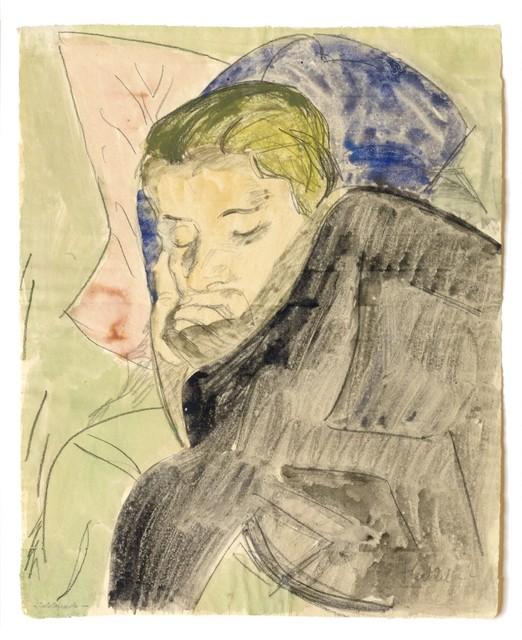 , ''Schlafende',' 1922, Galerie Thomas
