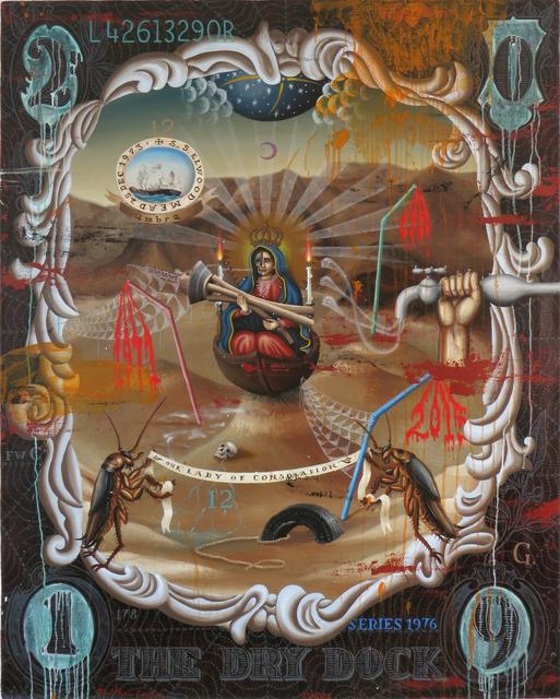 , 'THE DRY DOCK,' 2019, La Luz de Jesus Gallery