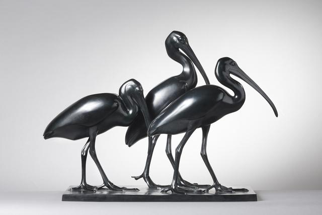 , 'Three Ibis,' , Galerie Dumonteil