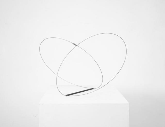 , 'gespannt, zwei Kreise zueinander, III,' 2011, SMUDAJESCHECK