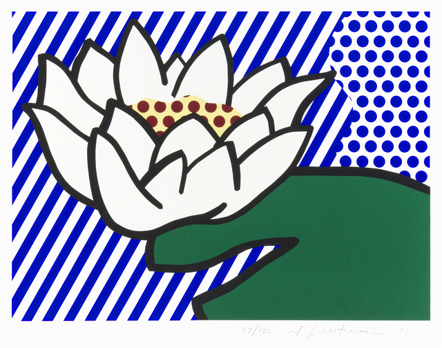 Roy Lichtenstein, 'Water Lily', 1993, John Moran Auctioneers