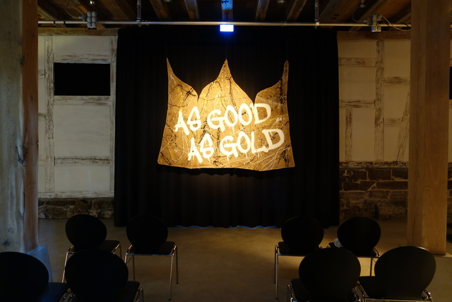 , 'AS GOOD AS GOLD (triptych),' 2014, Kilobase