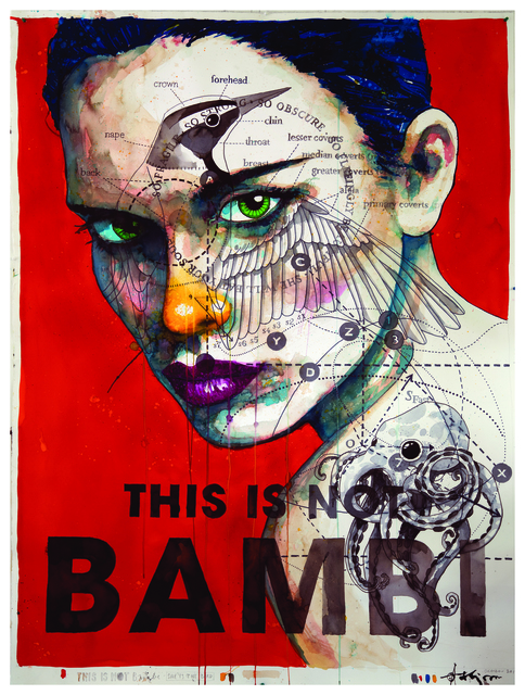 , 'This is Not Bambi,' 2017, Galerie LeRoyer
