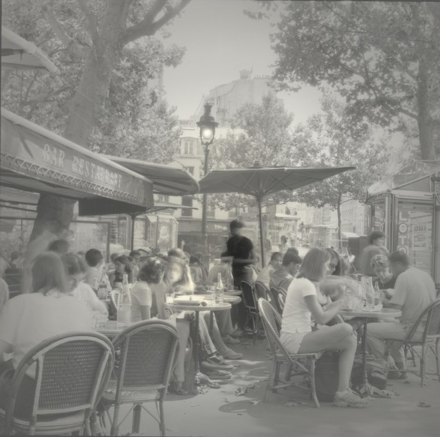 , 'Cafe by Republique, Paris,' 2001, Photography West Gallery