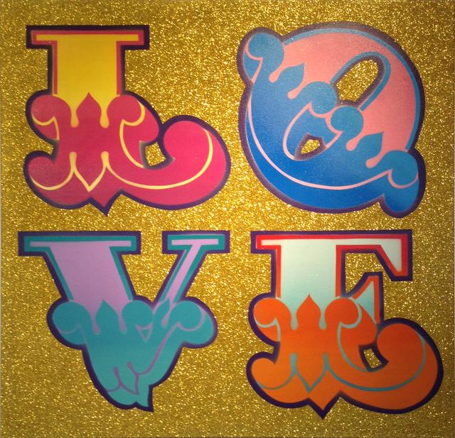 , 'Love (circus font),' , MUCA