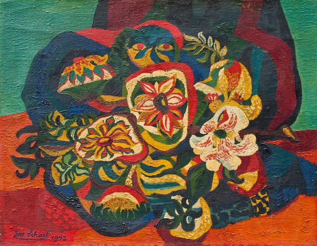 , 'Blumenstillleben (Flowers),' 1942, Hagemeier