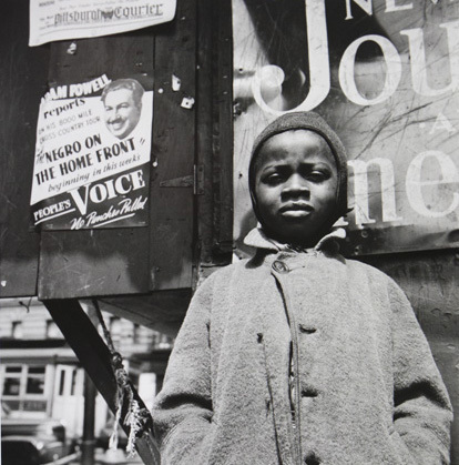, 'Harlem Newsboy, Harlem, New York,' 1943, Jenkins Johnson Gallery
