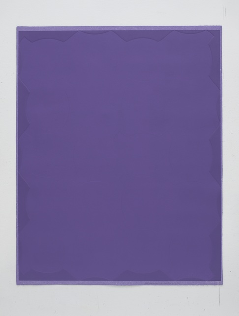 , '4 X 5 Perimeter of Little Fat Flesh - Purple,' 2013, STPI