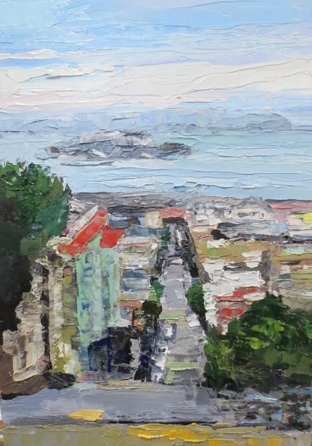, 'SF - Alcatraz Study,' 2018, Seager Gray Gallery