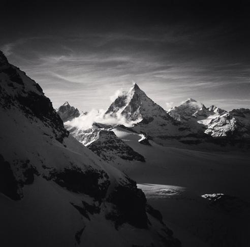 Michael Kenna, 'The Matterhorn, Pennine Alps, Switzerland', 1994, Photography, Gelatin Silver Print, Weston Gallery
