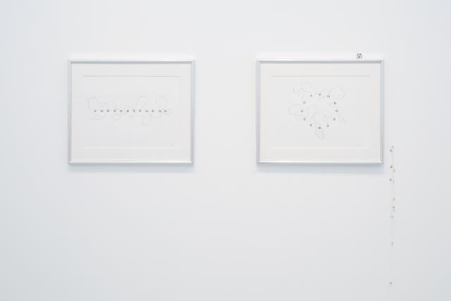 , '5.16.14.16.7.12.8.15.14.15.9.16 (Twelve lengths & Twelve points),' 2008, Tomio Koyama Gallery