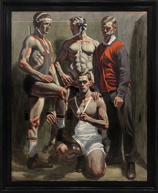 Mark Beard, '[Bruce Sargeant (1898-1938)] Champion Wrestling Team', n.d., ClampArt