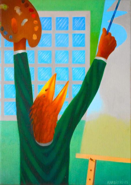 Joseph Barbieri, 'Moment of Truth?', 2015, Painting, Oil on canvas, Gallery NAGA