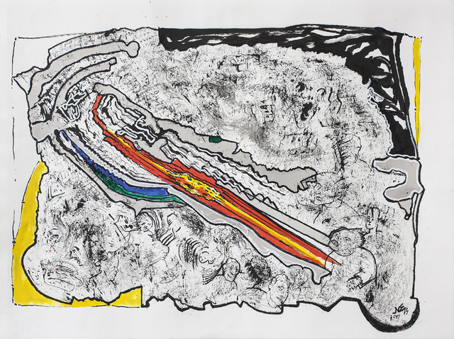 , 'Ay!,' 2015, Galería Rubbers Internacional