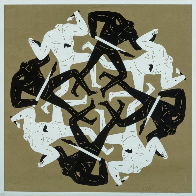 Cleon Peterson, 'Eclipse II (Gold)', 2017, Heritage Auctions