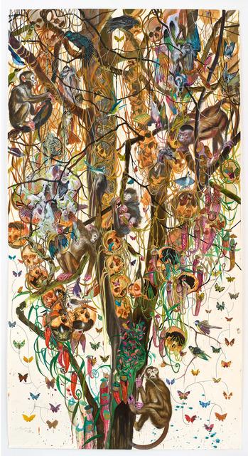 , 'Kopfbaum 10,' 2016, Galerie Klaus Gerrit Friese
