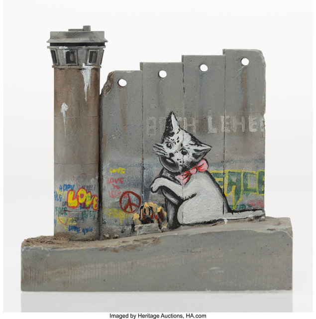 After Banksy, 'Defeated Wall Section', 2018, Heritage Auctions