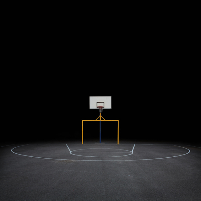 , 'Basketball Court,' 2008, Galerie Richard